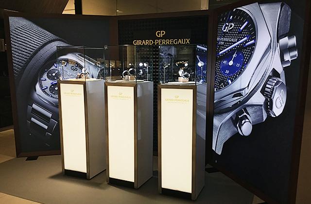 ジラール・ペルゴ 2018年新作アイテム 展示