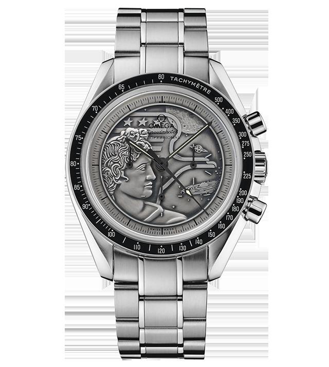 """""""アポロ17号"""" 40周年記念限定モデル スピードマスター プロフェッショナル画像"""