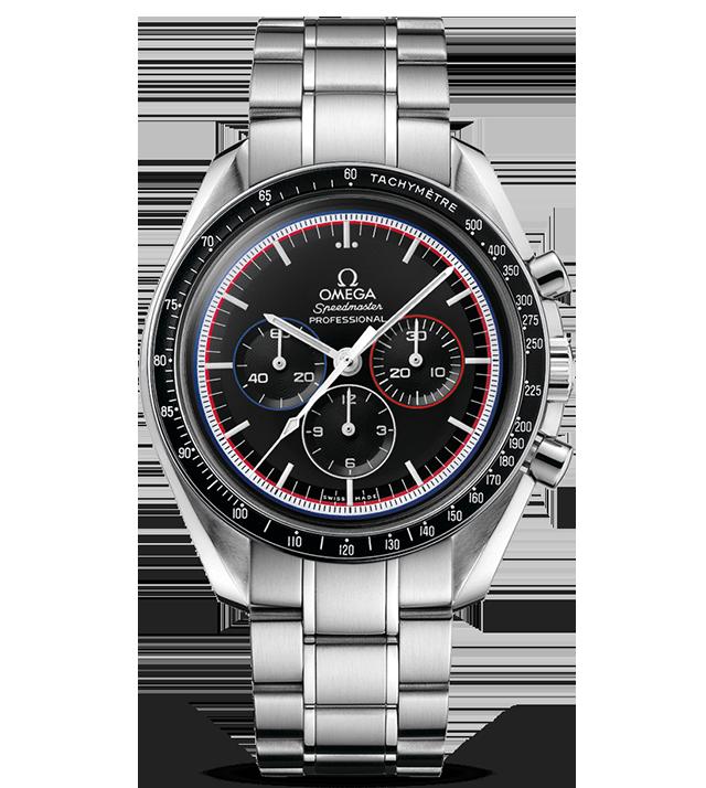 アポロ15号40周年記念限定モデル スピードマスター プロフェショナル画像