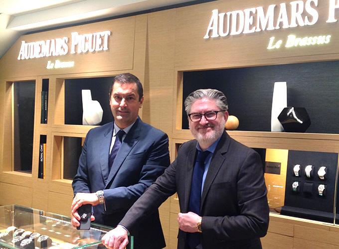 オーデマ ピゲ スイス本国セールスマネージャー Mr.Meylan氏がBEST新宿本店4Fへご来店されました