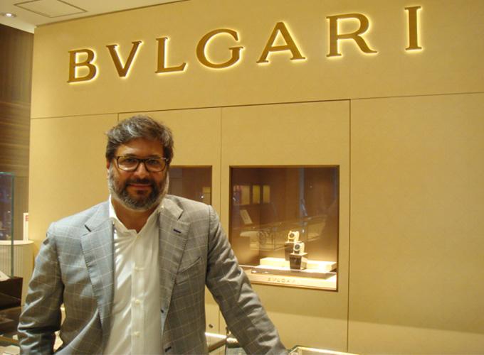 BVLGARI業務執行取締役 Guido M.Terreni氏がBEST新宿本店に来訪