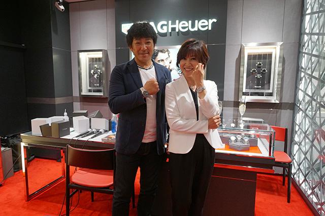 タグ・ホイヤーギャラリー 新宿 by ISHIDA OPEN記念イベント