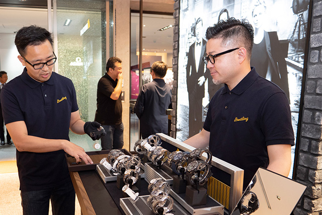 SPRIT OF BREITLING BY ISHIDA表参道 -Special Talk Event-