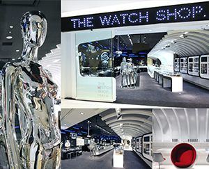 THE WATCH SHOP. ダイバーシティ東京 プラザ