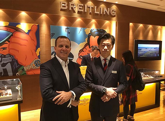 『BREITLING』販売取締役のNasr - Eddine Benaissa 氏